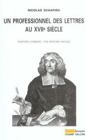 Un Professionnel Des Lettres Au Xviiie Siecle - Intérieur - Format classique