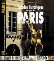 Balades historiques au coeur de paris - Couverture - Format classique