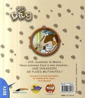 Docteur dog ; les puces puantes - 4ème de couverture - Format classique