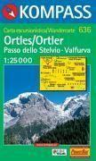 Ortles/passo dello stelvio 1/25.000 - Couverture - Format classique