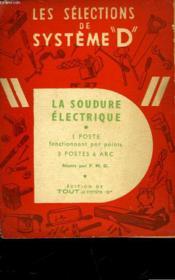 La Soudure Electrique - Couverture - Format classique