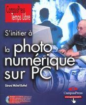 Temps Libre ; Photo Numerique Et Pc - Intérieur - Format classique