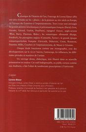 La peinture du XIX siècle en europe (édition 2007) - 4ème de couverture - Format classique