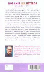 Nos Amis Les Heteros - 4ème de couverture - Format classique