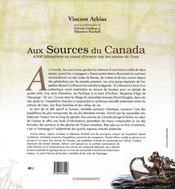 Sources Du Canada (Aux) - 4ème de couverture - Format classique