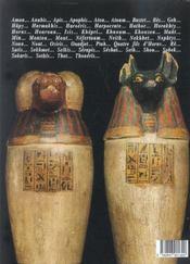 La mythologie egyptienne - 4ème de couverture - Format classique