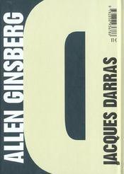 Allen Ginsberg ; la voix le souffle - 4ème de couverture - Format classique