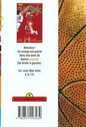 Slam Dunk T13 - 4ème de couverture - Format classique