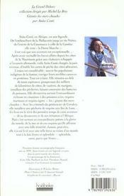 Geants Des Mers Chaudes - 4ème de couverture - Format classique
