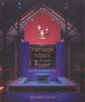 Heritage Hotels De L'Inde - Intérieur - Format classique