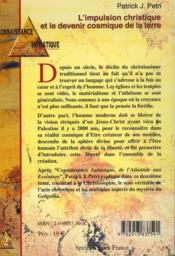 Connaissance initiatique t.2 ; l'impulsion christique et le devenir cosmique de la terre - 4ème de couverture - Format classique