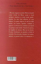 Charette ; Cadoudal - 4ème de couverture - Format classique