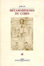 Metamorphoses Du Corps - Couverture - Format classique