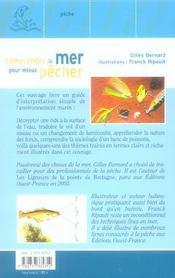 Comprendre La Mer Pour Mieux Pecher - 4ème de couverture - Format classique
