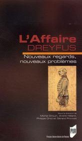 L'affaire Dreyfus. nouveaux regards nouveaux problèmes - Intérieur - Format classique