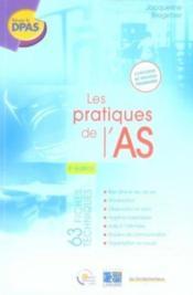 Les pratiques de l'aide-soignant (3e édition) - Couverture - Format classique