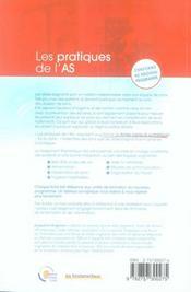 Les pratiques de l'aide-soignant (3e édition) - 4ème de couverture - Format classique