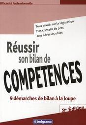 Reussir son bilan de competences 2 edt - Intérieur - Format classique