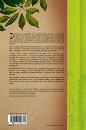 Évolution des concepts fondateurs de la biologie du XXI siècle - 4ème de couverture - Format classique