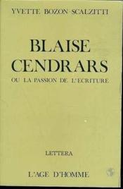 Blaise Cendrars - Couverture - Format classique