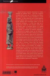 Pitres et pantins - 4ème de couverture - Format classique