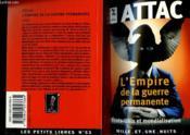 L'Empire De La Guerre Permanente - Couverture - Format classique
