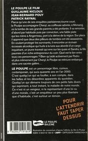 Le Poulpe Le Film - 4ème de couverture - Format classique