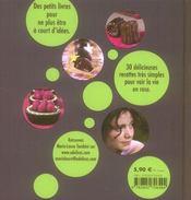 Chocolat ! anti-déprime - 4ème de couverture - Format classique