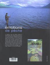 Emotions De Peche - 4ème de couverture - Format classique