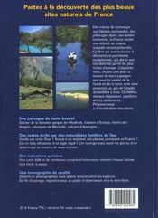 Balades Nature ; Les Plus Belles Balades Nature De France - 4ème de couverture - Format classique