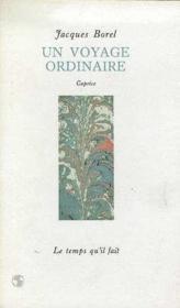 Un Voyage Ordinaire - Couverture - Format classique