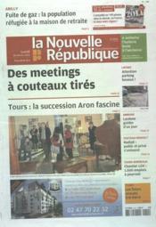 Nouvelle Republique (La) N°20474 du 20/02/2012 - Couverture - Format classique