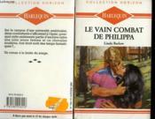 Le Vain Combat De Philippa - Knight Of Passion - Couverture - Format classique