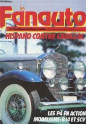 Le Fanauto N°182 - Hispano Contre Cadillac - Les P4 En Action - Modelisme : B14 Et 5cv - Couverture - Format classique