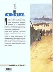 Les Morin-Lourdel t.3 ; la guerre entre parenthèses - 4ème de couverture - Format classique