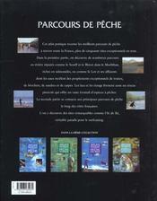 Des Parcours De Peche - 4ème de couverture - Format classique