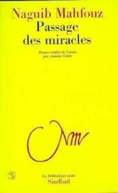 Passage des miracles - Couverture - Format classique