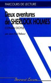 Sherlock Holmes - Parcours De Lecture - Couverture - Format classique