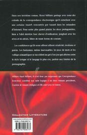 Correspondance Licencieuse - 4ème de couverture - Format classique