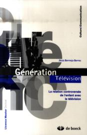 L'enfant et la télévision - Couverture - Format classique
