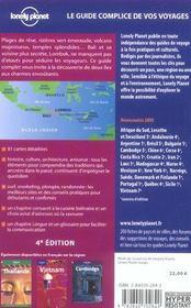 Bali Et Lombok - 4ème de couverture - Format classique