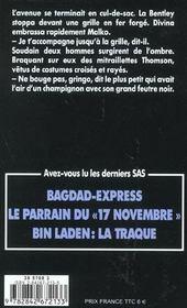 SAS t.18 ; que viva Guevara - 4ème de couverture - Format classique