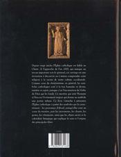 Symboles catholiques - 4ème de couverture - Format classique