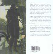 Douanier Rousseau: La Charmeuse De Serpents - 4ème de couverture - Format classique