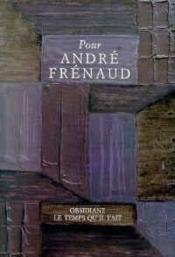 Pour Andre Frenaud - Couverture - Format classique