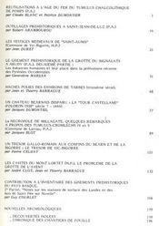 Archéologie des Pyrénées Occidentales. Tome 8 - 1988 - Intérieur - Format classique