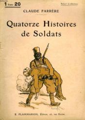 Quatorze Histoires De Soldats. Collection : Select Collection N° 213 - Couverture - Format classique