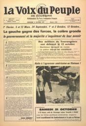 Voix Du Peuple De Touraine (La) N°1368 du 15/10/1967 - Couverture - Format classique