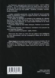 Les Retrievers - 4ème de couverture - Format classique