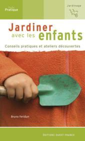Jardiner avec les enfants - Couverture - Format classique